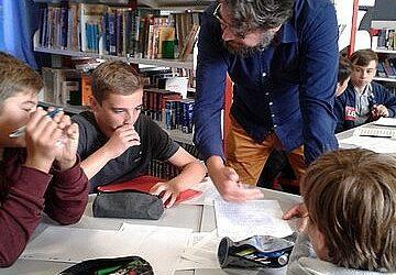 Atelier d'écriture en 4è avec Tristan Pichard