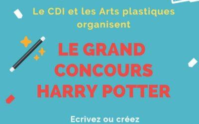 Concours Harry Potter CDI – Arts plastiques